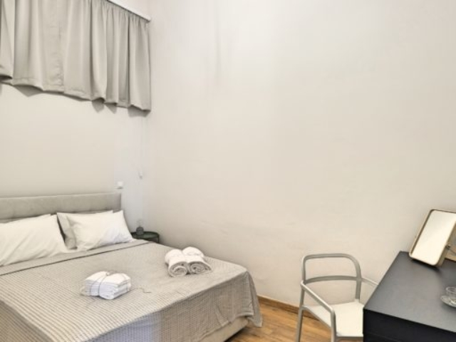 Budget Double Room Bed - Agora Residence - Hotel in Chios