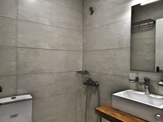 Budget Single Room Bathroom - Agora Residence - Hotel in Chios