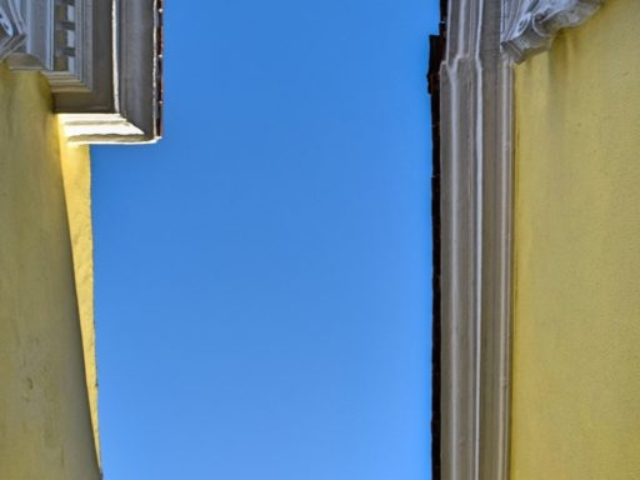 Exterior Building Detail - Agora Residence - Hotel in Chios