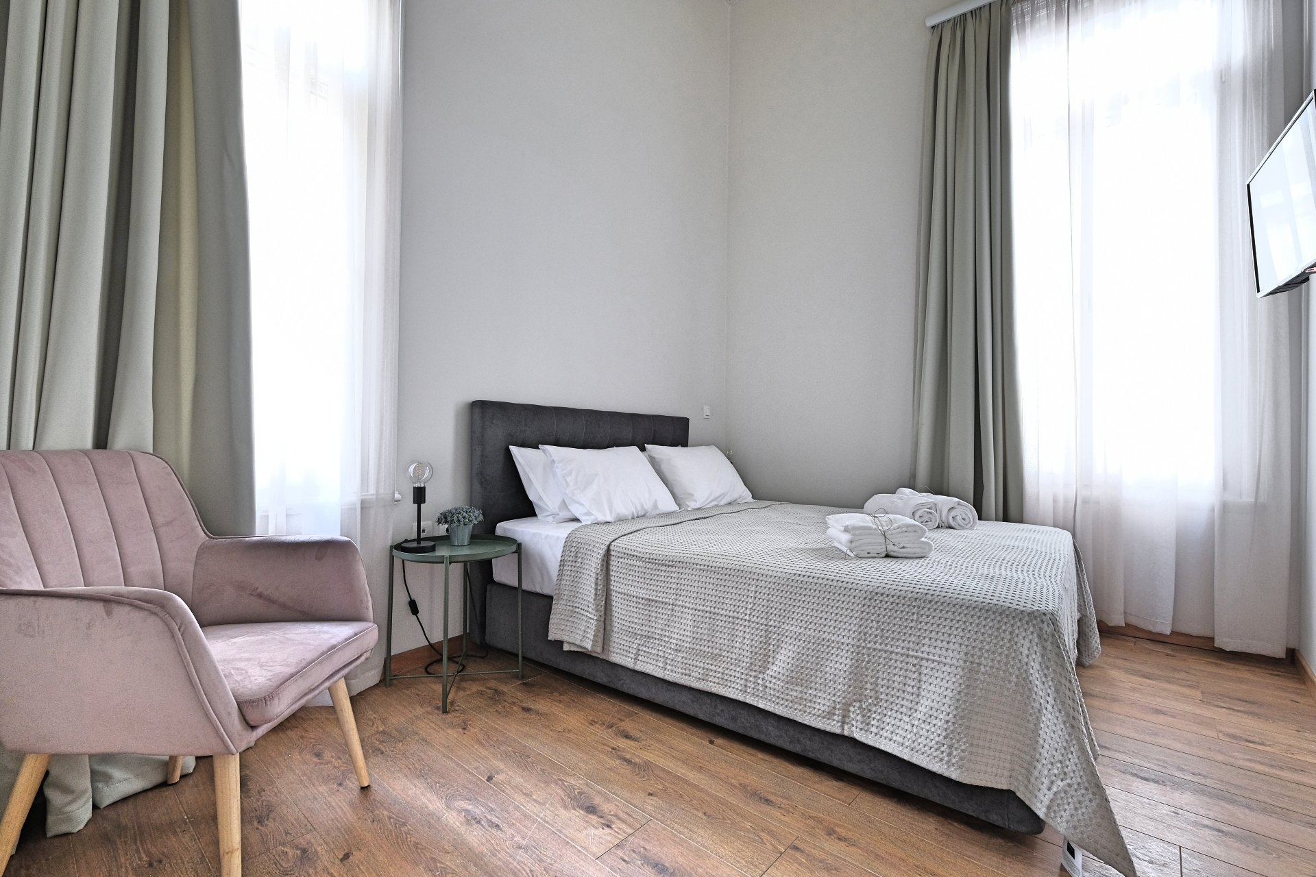 Standard Double Room with Double Bed 1 - Agora Residence - Hotel in Chios