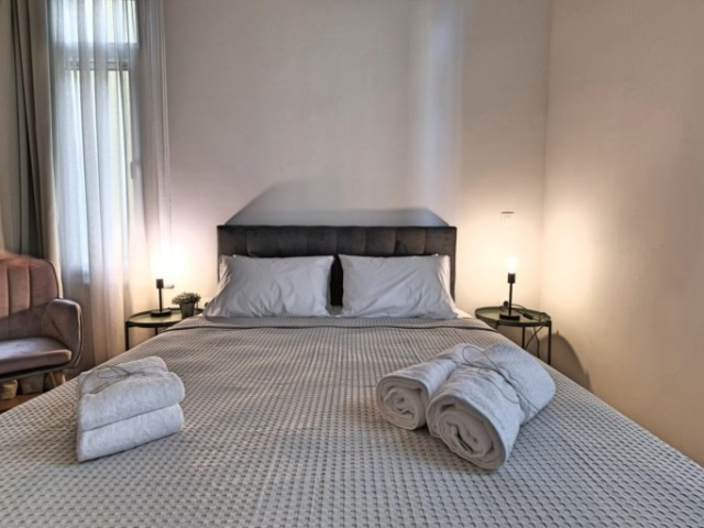 Standard Double Room with Double Bed 2 - Agora Residence - Hotel in Chios