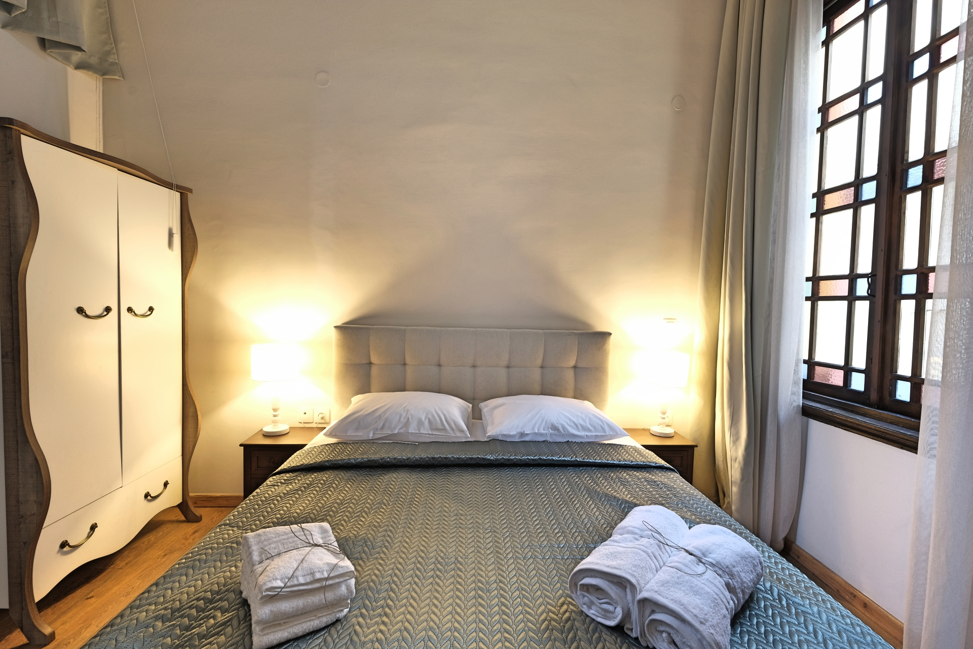 Standard Double Room with Double Bed & Painted Ceiling 2 - Agora Residence - Hotel in Chios