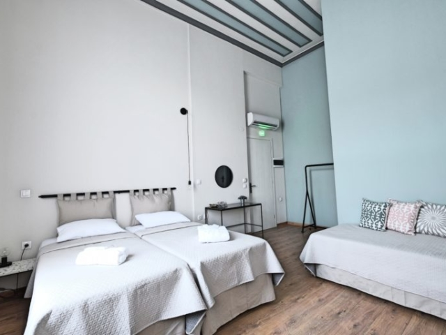 Superior Double Room 1 - Agora Residence - Hotel in Chios
