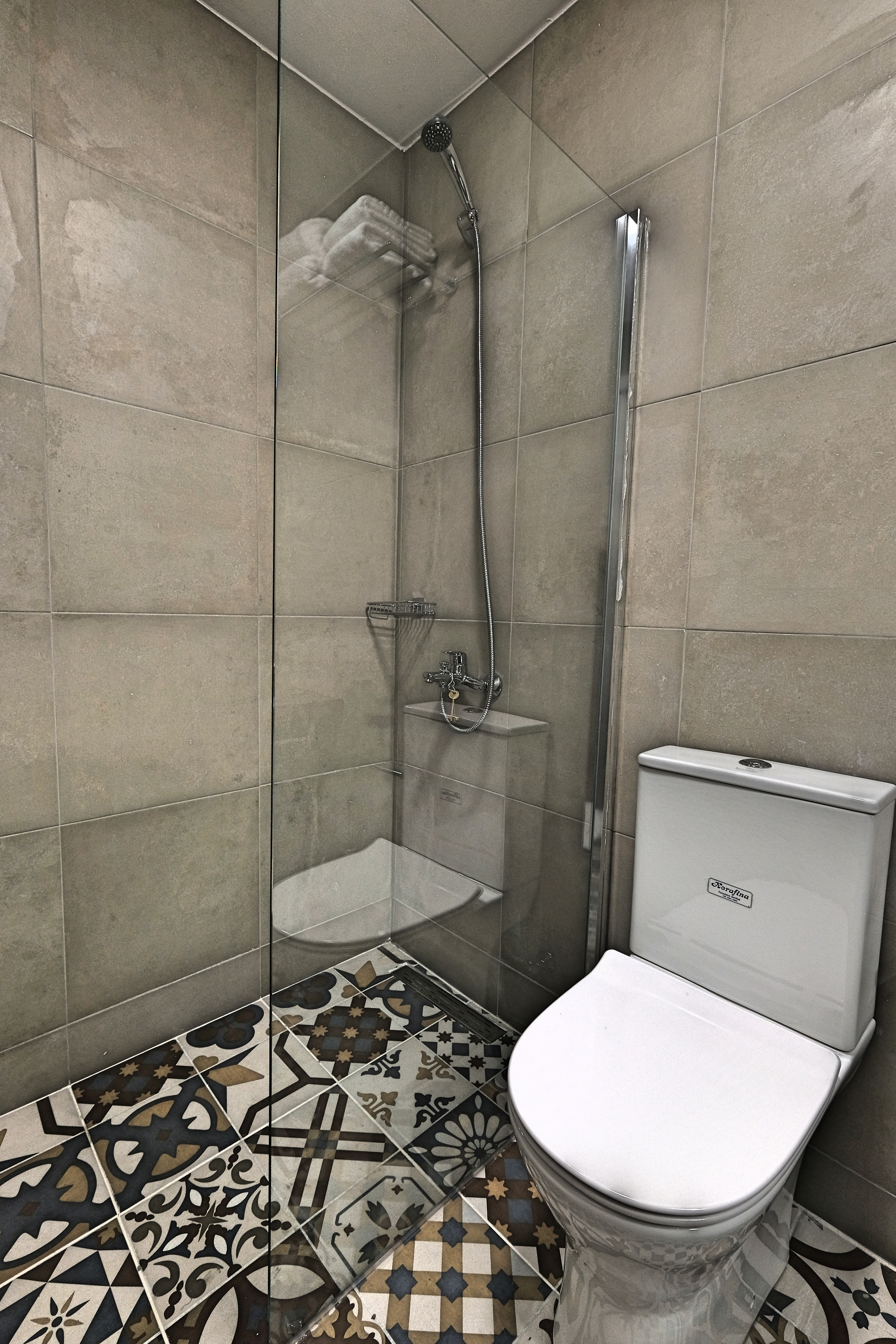 Superior Studio with Balcony Room Toilet - Agora Residence - Hotel in Chios