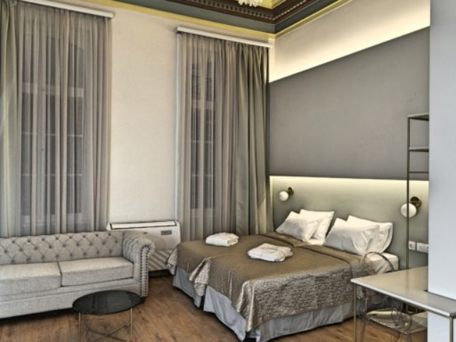 Superior Studio with Sofa Room 4 - Agora Residence - Hotel in Chios