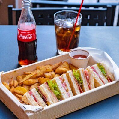 Club sandwich Agora Residence Cafe Chios